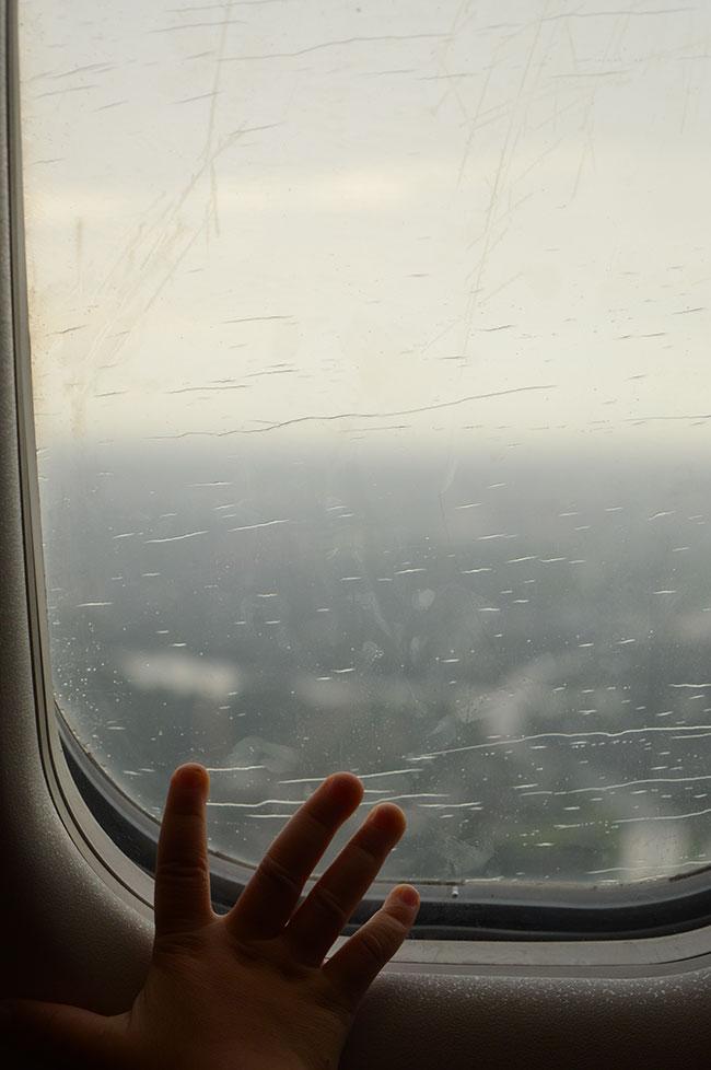Landing in Rainy Montreal