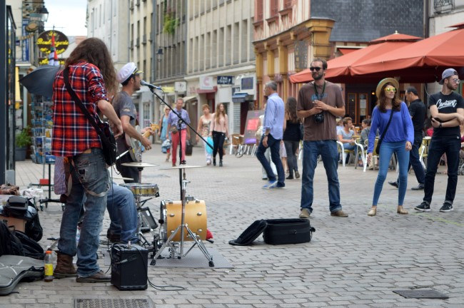 Musicians and Fans