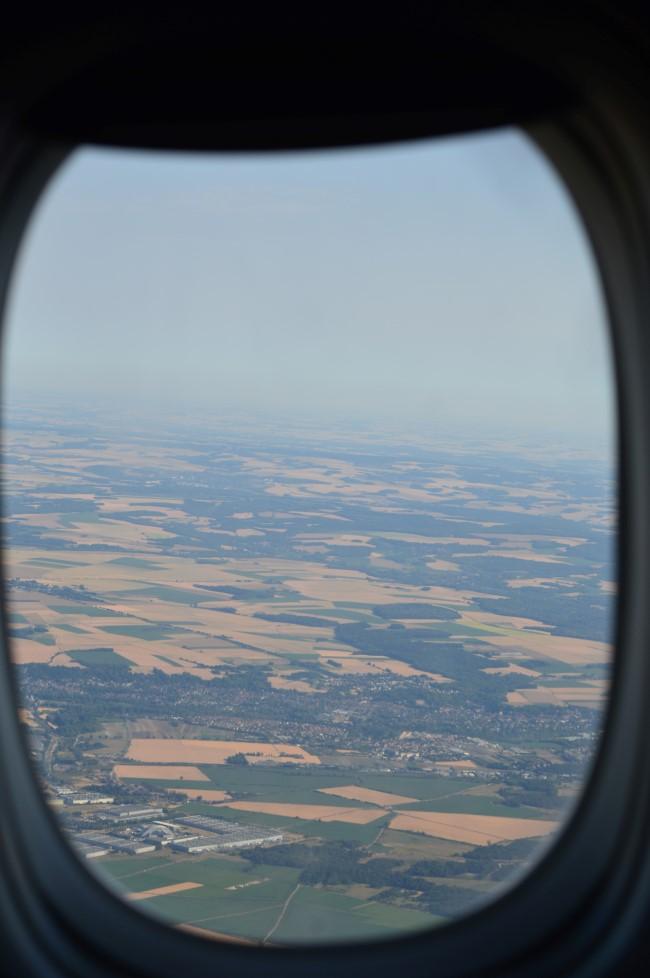 Landing in Paris