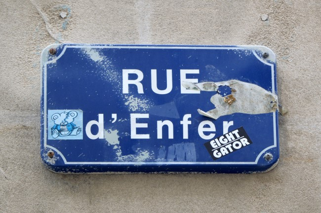 Rue d'Enfer