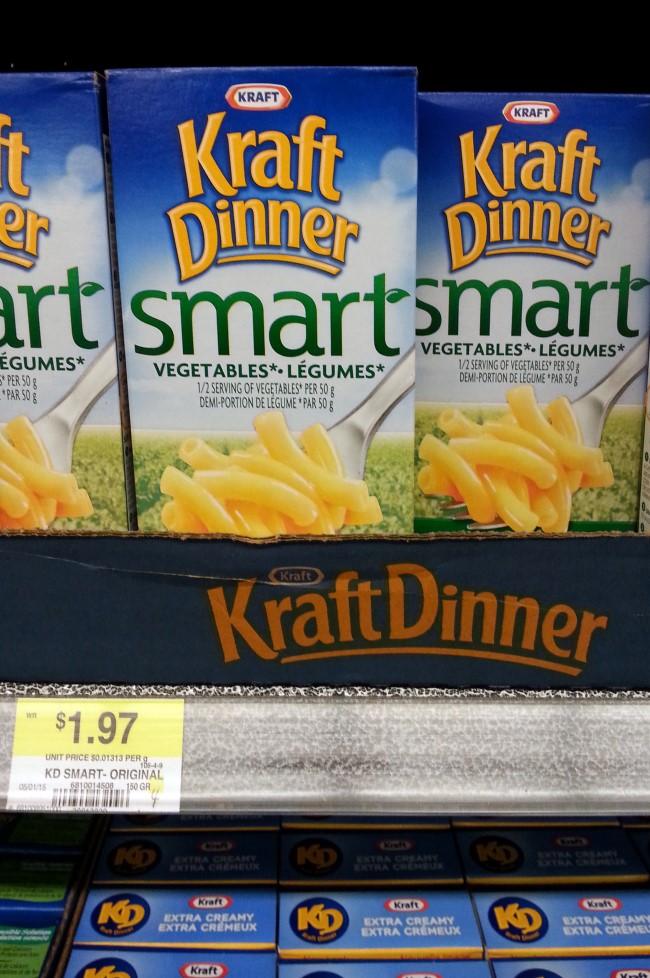 Kraft Macaroni & Cheese (Nice Marketing Attempt at Healthy)
