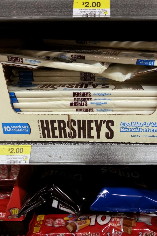 Hershey's Cookie and Cream Candy Bar