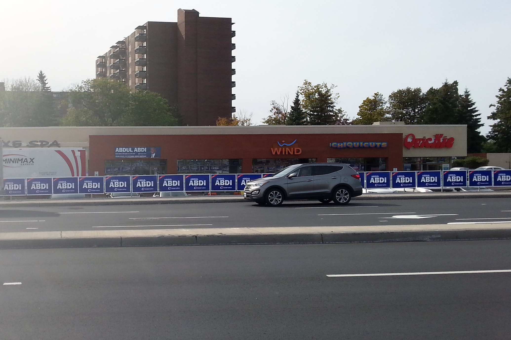 The Conservative Candidate HQ on Baseline, Ottawa, September 2015