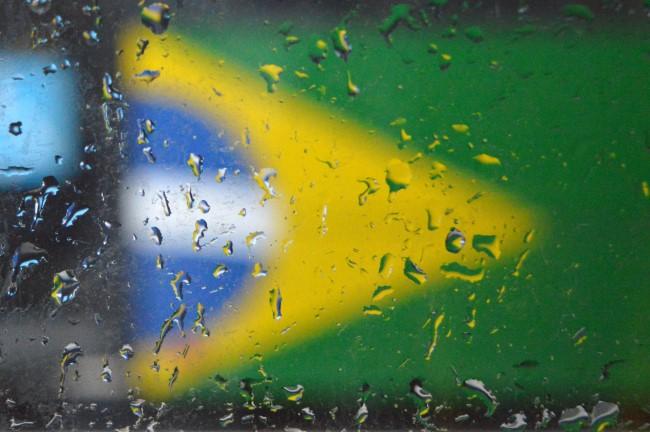 Rain on Brazil