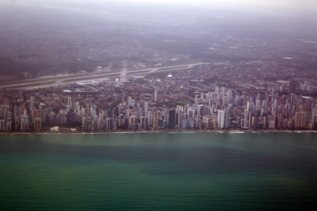 Leaving Recife