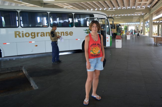 Bus station in Natal