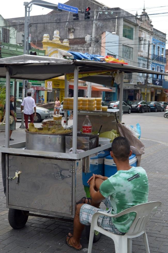 Street food: corn