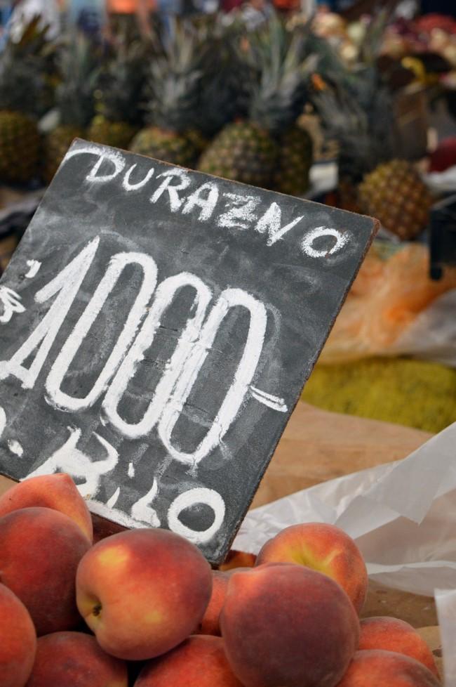 La Vega Central (Feria Mapocho), a huge fruits and vegetables market