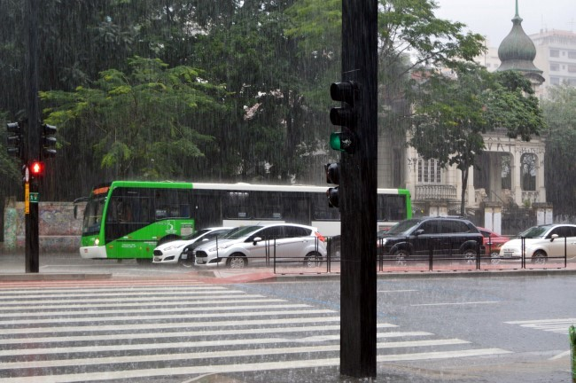 Downpour on Paulista