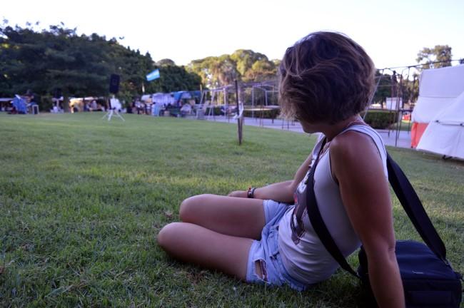 Resting at the Plaza Intendente Torcuato de Alvear, Buenos Aires