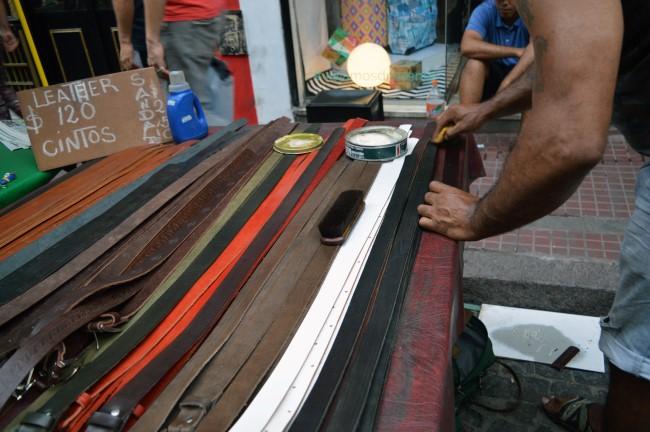 Feria de antigüedades del barrio de San Telmo
