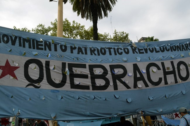 Protest on Plaza de Mayo