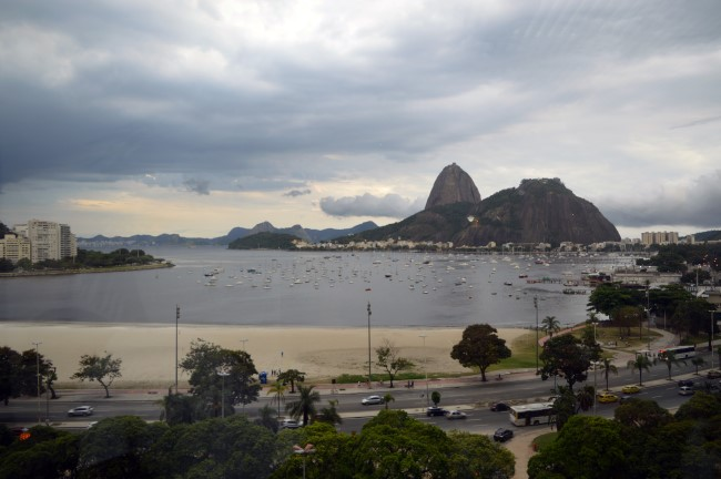 The Sugar Loaf from Botafogo