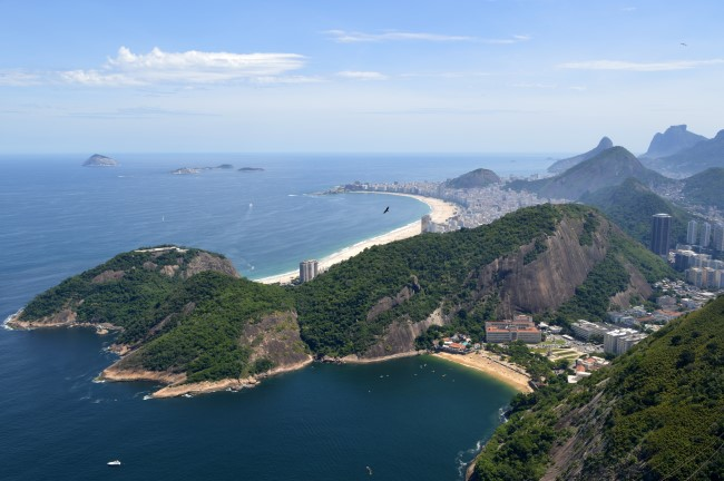 Copacabana from the Pão de Açúcar
