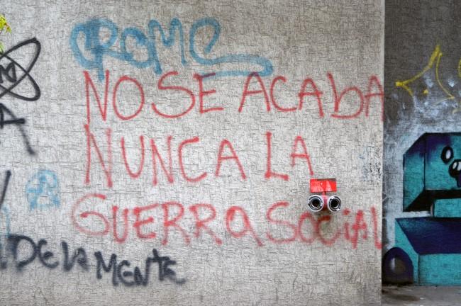 """""""Social war never ends"""""""