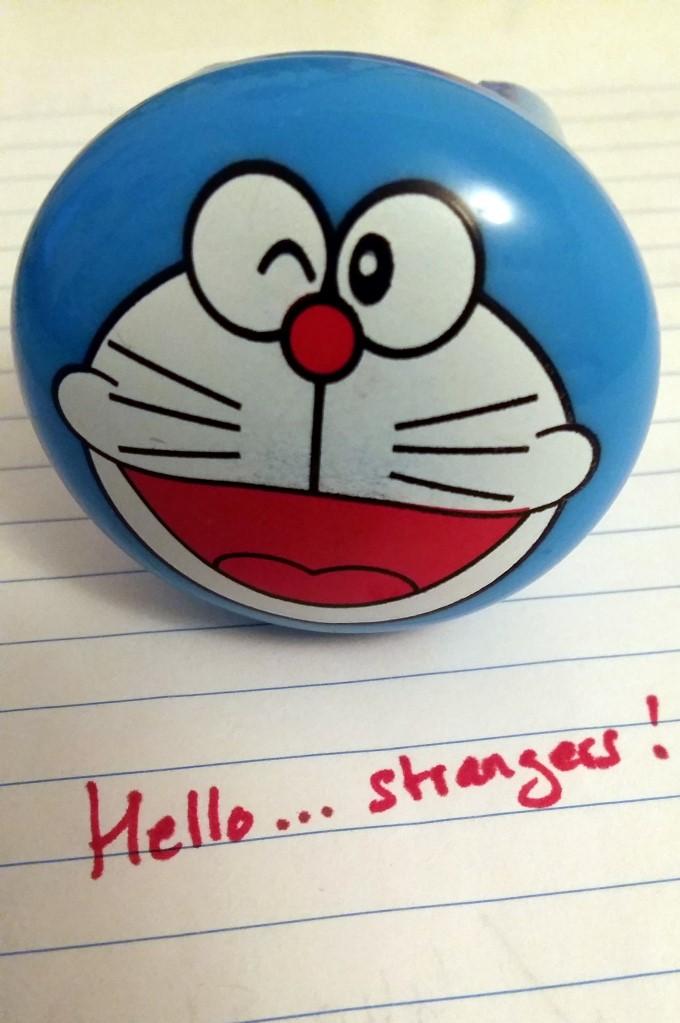 Hello strangers!