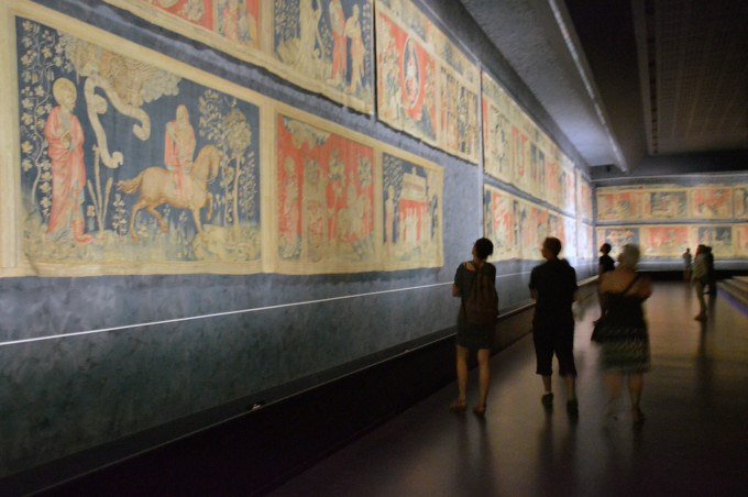 The Apocalypse Tapestry at Château d'Angers