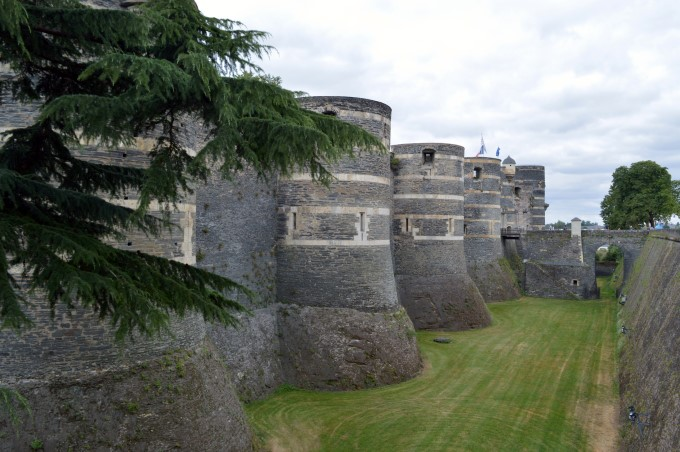The Château d'Angers