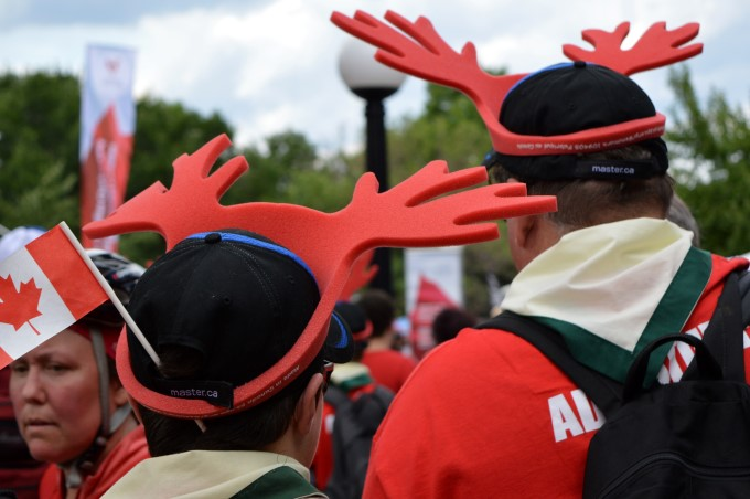 The popular (free) moose hat
