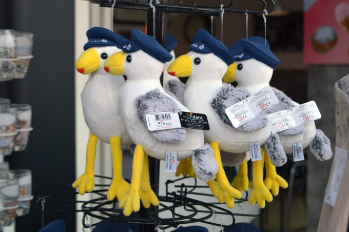Seagulls souvenir key chains