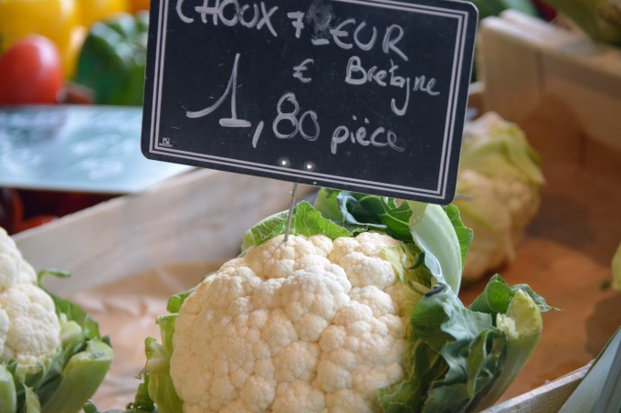 Cauliflower at Talensac Market