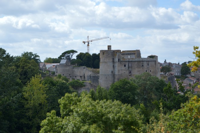 Clisson from the Villa