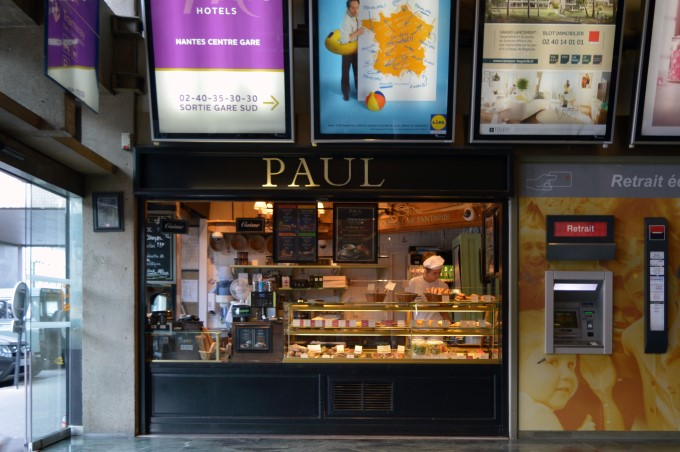 Paul Bakery at the train station