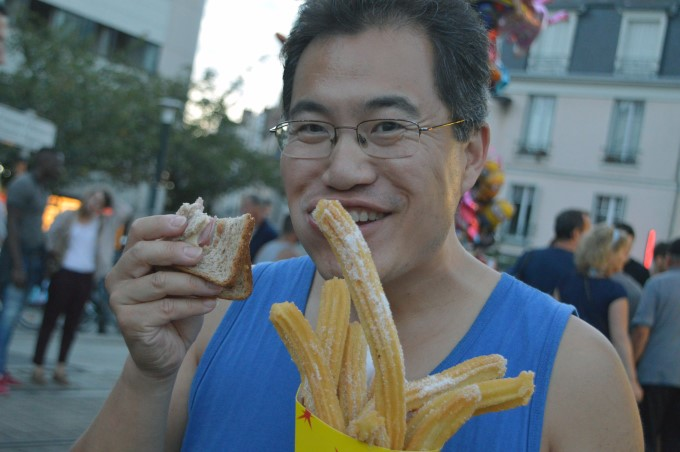 Feng and his churros