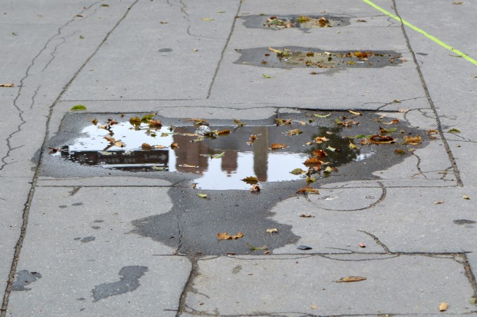 Rainy day in Nantes