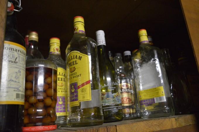 My paternal grand-father's wine cellar