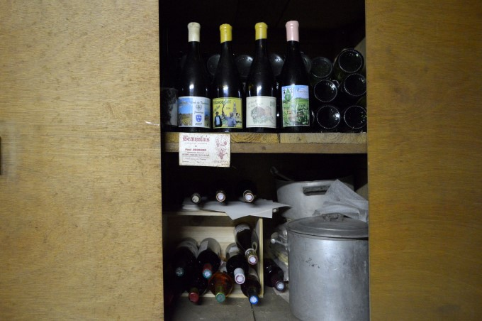 My paternal grand-father's wine cellar
