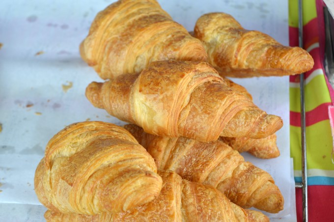 Croissants at Tharon's Market