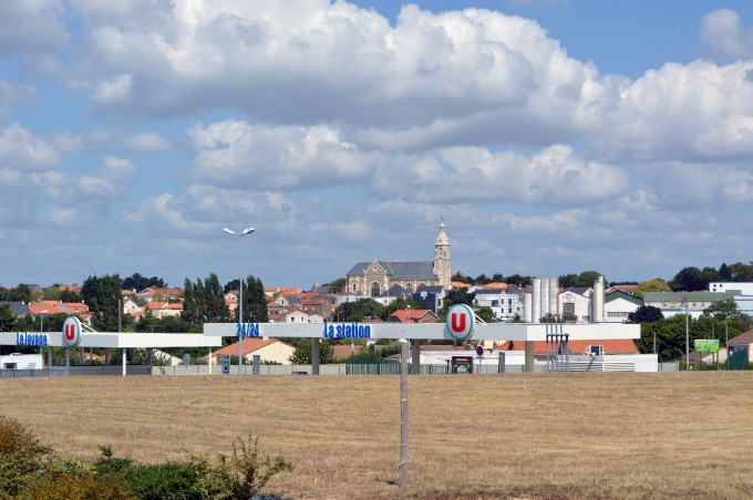 Saint-Michel from the Unico supermarket