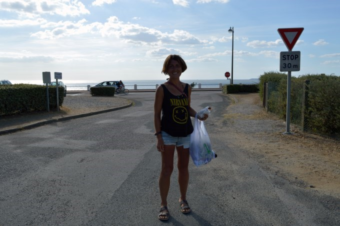 Going to the beach