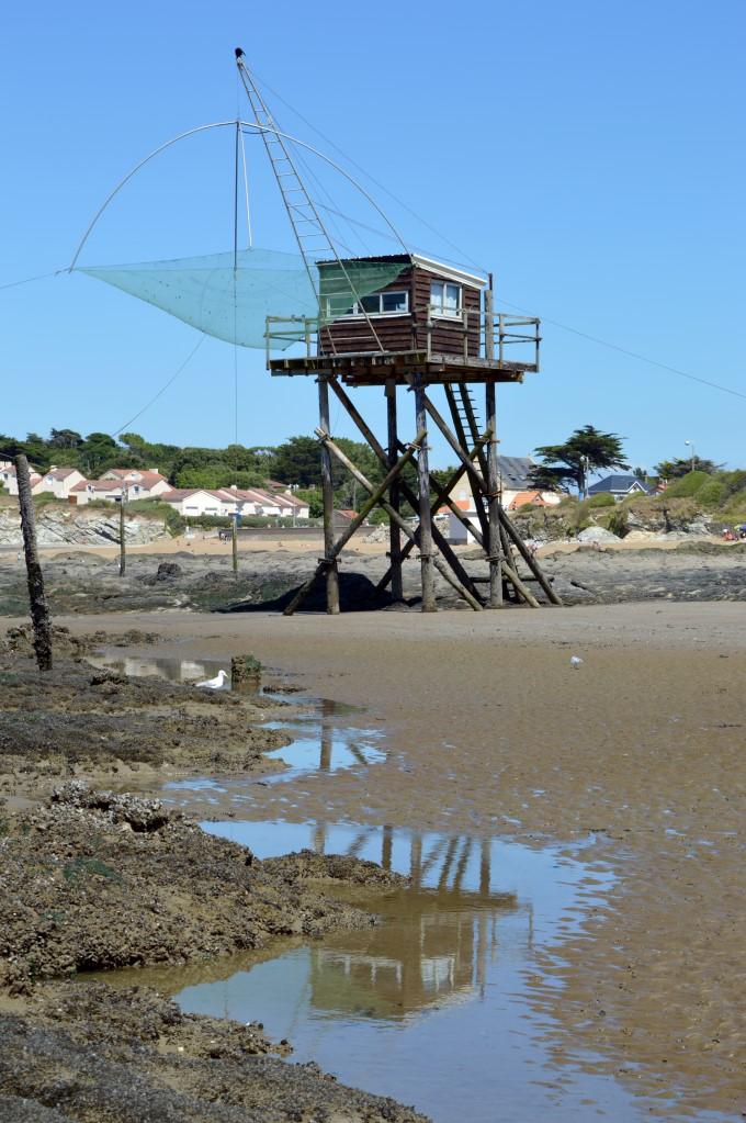 Fishing cabin in Saint-Michel