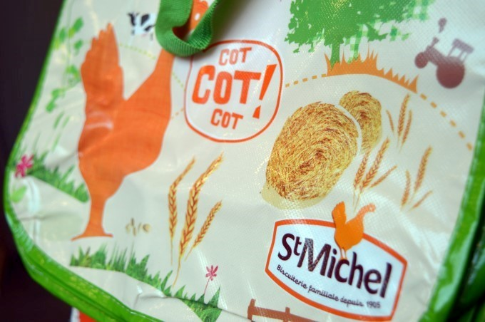 Saint-Michel cookies bag