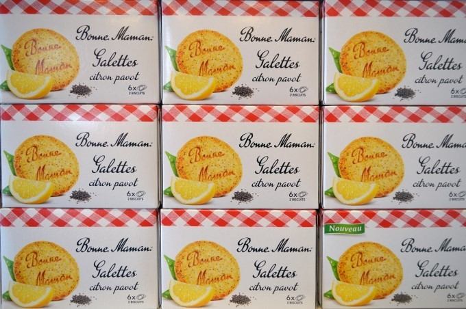 Bonne-Maman brand cookies