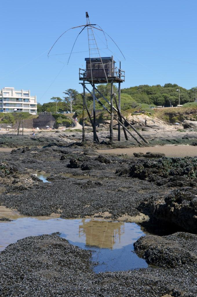 Low tide in Saint-Michel