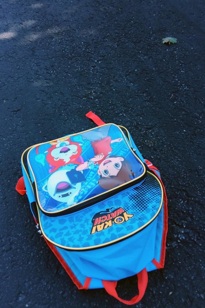 Mark's school bag