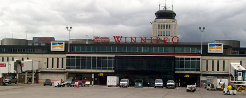 Landing In Winnipeg
