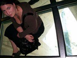 Seating On Glass Floor