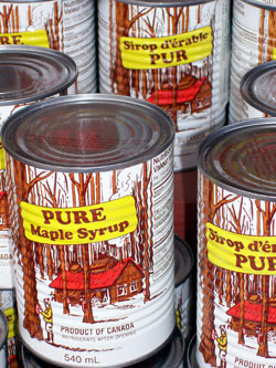 Maple Syrup Cans