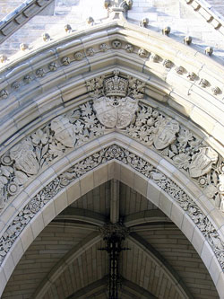 The Entrance of the Parliament