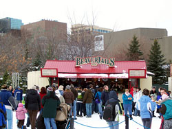 Lining Up For Beavertails