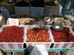 Nuts And Spices In Chinatown