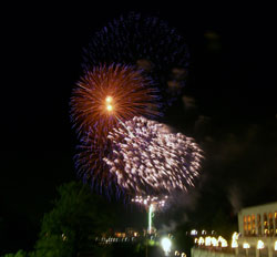 Fireworks on Canada Day