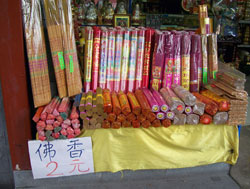 Selling Incense For Prayers