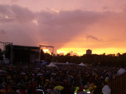 Sunset On The Stage