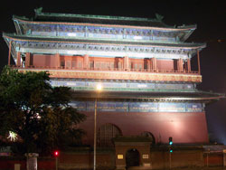 The Back Of Tiananmen At Night