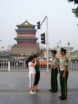 In Front Of Qianmen